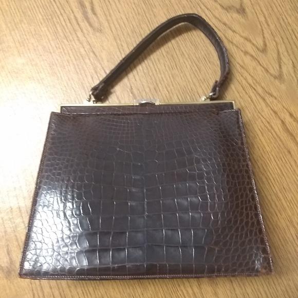 47ca1c93bb3a Lucille De Paris Handbags - Lucille De Paris croc look